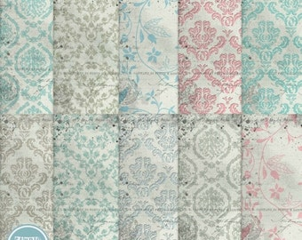 ON SALE Digital blog and scrapbooking background , papers vol.109 - INSTANT Download