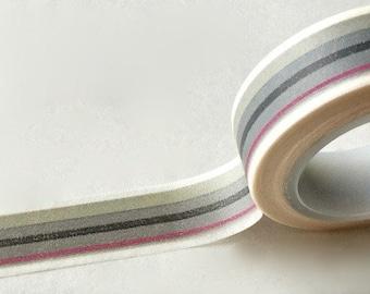 SALE Striped Washi Tape  15 x 10 meters