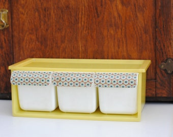 Retro Three Bin Organizer