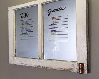 Silver Window Whiteboard