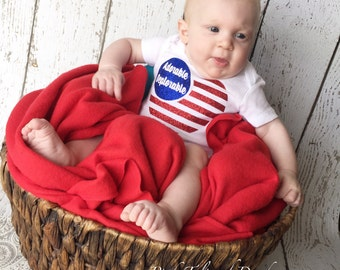 Deplorable bodysuit, Adorable bodysuit, Adorable deplorable, Republican baby, Red white and blue baby clothes