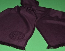 Gianni Versace  Men 100% Wool Scarf Shawl  Made in Italy