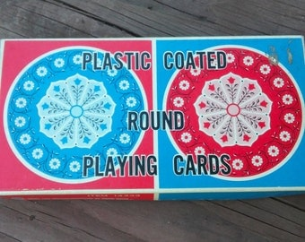 1960's Chadwick-Miller Round Playing Cards