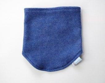 Organic Neck Warmer, fleece neckwarmer, velcro neck warmer, organic scarf, kids neck warmer, reversible scarf, cache cou enfant, 25% off