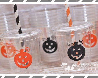 Halloween Party Cups-Jack-o-lantern Party Supplies-Kids Party Cups