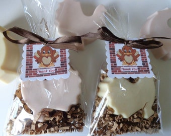 10 Turkey Soap Favors, Holidays & Special Occasion Party Favors, Turkeys
