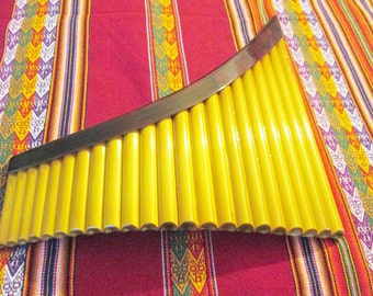 Professional Yzarra panflute 22 pipes from Peru Case Included-Item in USA