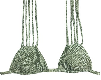 String Bikini Top Available in 9 Prints