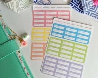 Konmari Stickers, Planner Stickers, Downsize Stickers, Pastel Planner Stickers, Erin Condren, Happy Planner, InkWell, Plum Paper