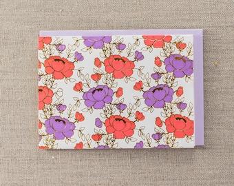 Ladylike Foil Letterpress Greeting Card