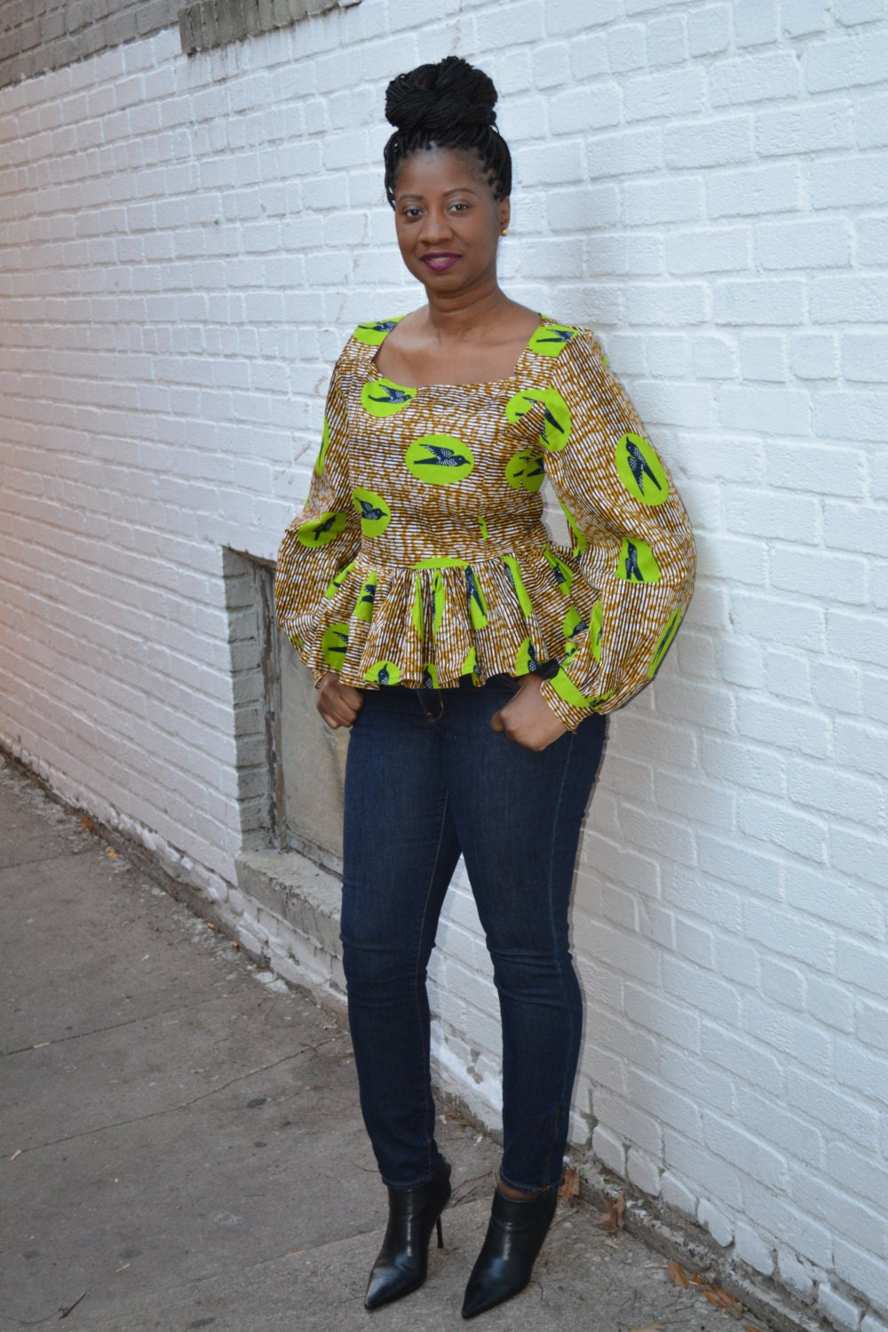 Women's African Clothing Women's Skirts African Pant Suits African Dresses Tops & More Jumpsuits Dashikis Plus Size Clothing Plus Size Clothing. View as Grid List. Sort by. Display. per page. King-Sized Traditional Dashiki. The Dashiki that Flatters Your Size Create a stunning silhouette, no matter what your size! % cotton. 33