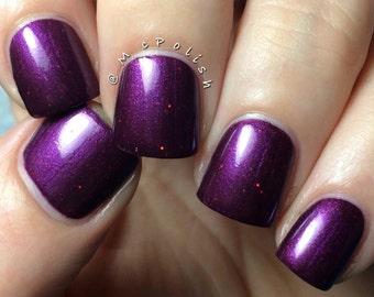 Berried Alive handmade artisan nail polish