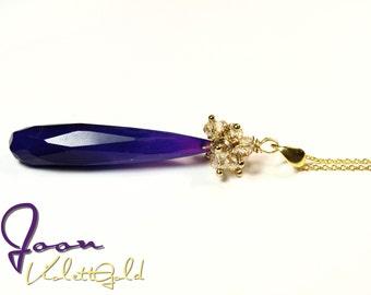 ViolettGold - Necklace 92.5 sterling silver