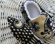 Infant New Orleans Saints High Top Slippers