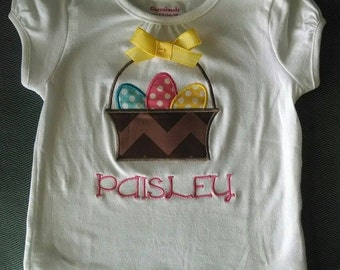 Easter Egg Basket Tee