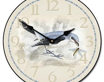 Bird & Bee Wall Clock