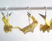 Papercraft Pokemon earrings