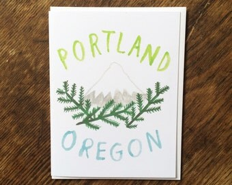 Portland, Oregon Card