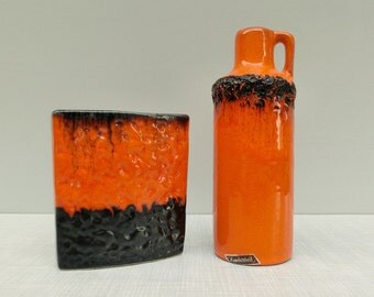 Fat lava vases set cruise ceramic