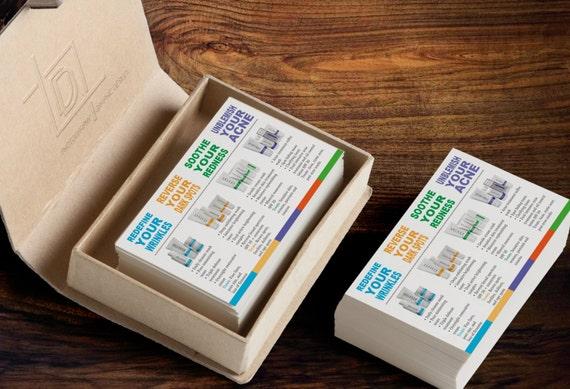 Rodan Fields Product Information Cards Instant by