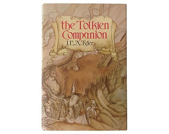 The Tolkien Companion by J. E. A. Tyler, Perfect Gift for Hobbit Fan, Tons of Tolkien Trivia, Lovely Edition, St. Martin's Press, 1976