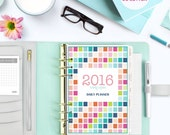 2016/17 PLANNER Pages  (Half Size) Life Organizer Digital, Printable Instant download - Monthly Calendar, Weekly, Daily Schedule & more