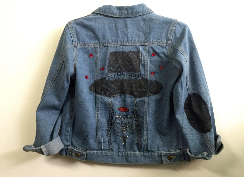 Denim jacket xs | Etsy