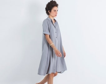 Oversized Dress, Loose Dress, Bohemian Loose Dress, Flare Dress, Oversized Clothing, Midi Dress, Oversized Tunic, Loose Dress Women, Boho