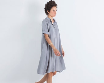 Oversized Dress, Loose Dress, Bohemian Loose Dress, Gift for Her, Oversized Clothing, Midi Dress, Oversized Tunic, Loose Dress Women, Boho