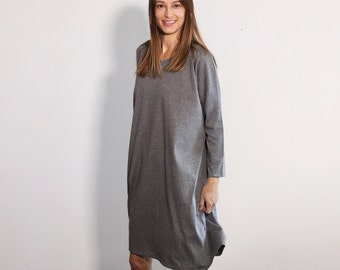 Oversized Dress Maxi Dress Loose Dress Party Dress for Plus