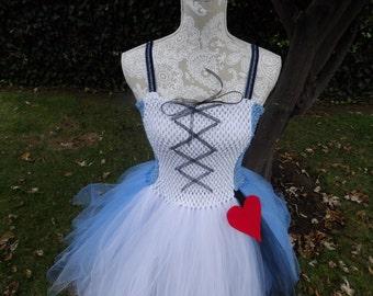 Alice In Wonderland Tutu dress.