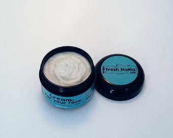 Natural face cream, anti-aging, facial lotion, night cream, anti-aging cream, moisturizing lotion, fine lines, blemishes, face cream