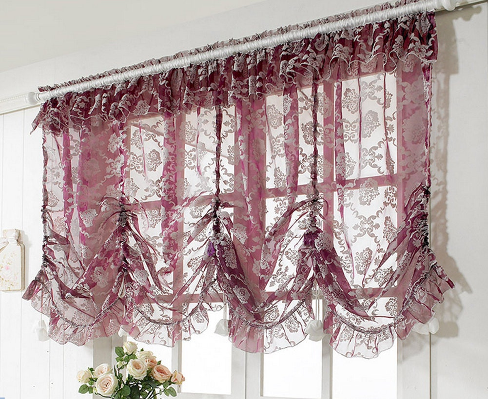 Image Result For Pink And Purple Ruffle Curtains