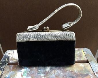 Velvet fancy purse