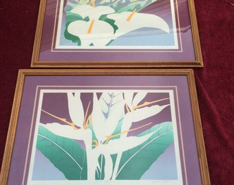 David Allgood embossed and signed prints
