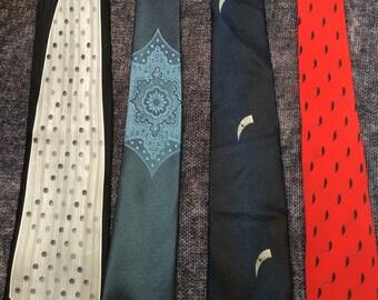 Vintage Italian made ties
