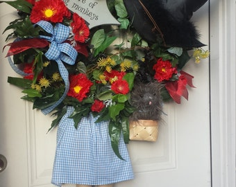 RESERVED - Wizard of Oz Wreath