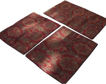 Turkish Kilim Moroccan Floor Pillows - Set of 3
