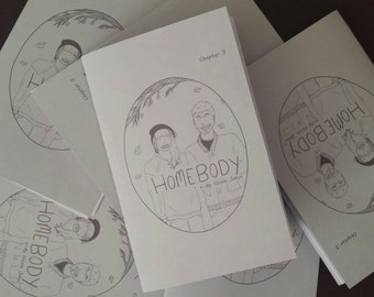 Homebody Chapter 3 Mini Comic Zine Chicago