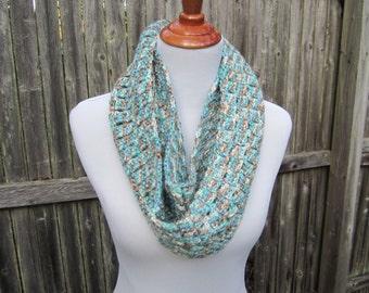 Crochet Infinity Scarf, Winter Scarf, Crochet Scarf, Ready to Ship by CROriginals