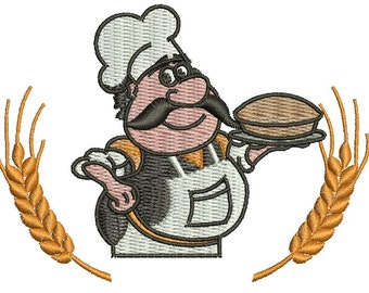 chef / cooc embroidery design - tested
