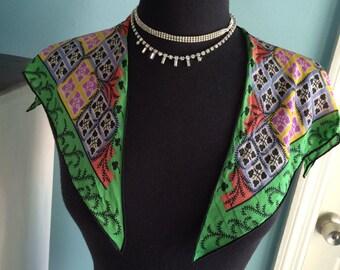Vintage scarf collar