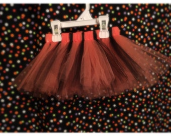 Orange and black Halloween Tutu.