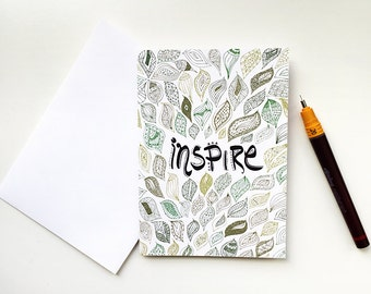 Inspire Greeting Card | Thank You Card | Birthday Card | Notecard