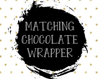Candy bar wrapper/personalised candy bar wrappers/chocolate bar wrapper/favor chocolate bards/printable file/Bar wrappers/chocolate wrappers
