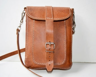 brown leather bag for man