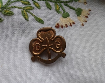 Vintage Girl Guides Badge