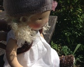 Deposit for Peggy-Lola-14 inch organic waldorf inspired doll