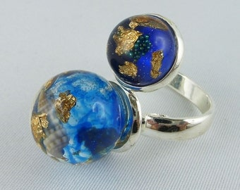 Ring, finger ring, Resin