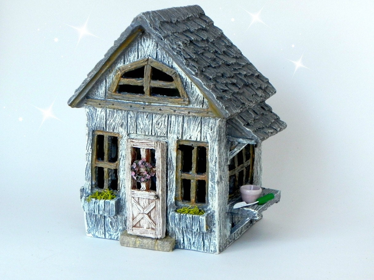 Fairy Cottage House Accessories Miniature Resin Fairy